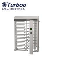 Quality RFID Facial Barcode Recognition Full Height Turnstile / SUS304 Full Height Gate for sale