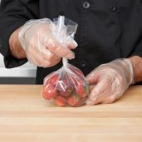 """Clear Colour Commercial Food Bags Gravure Printing 4"""" X 2"""" X 10"""" Size Manufactures"""