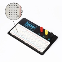 ZY-1201 Solderless Prototype Breadboard  830 Tie-points Board with Metal Plate Manufactures