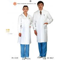 Cheap Customised Doctors Apron Coats , Pink  Blue White Medical Apron For Doctors Non Sterilized for sale