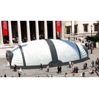 China Large Beetle White Inflatable Structure Building With Brand Printing For Event on sale