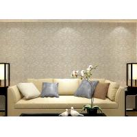 Cheap Colorful Floral Non woven European Style Wallpaper room design Wet embossed for sale