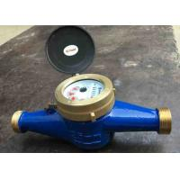 Residential Cold Water Multi Jet Meter Iso4064 Class B With Brass House Manufactures