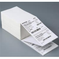 Disposable Self Stick Address Labels Roll With Waterproof Thermal Barcode Manufactures