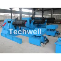 7 / 10 / 15 Ton Weight Capacity Steel Coil Decoiler With Adjustable Working Speed Manufactures