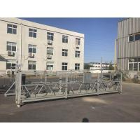 220V / 60HZ Three Phase Aluminum ZLP800 Suspended Platform For Building Construction Work Manufactures