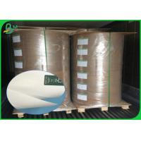 115gsm High Glossy Coated Paper,  400mm 500mm Width Art Paper Roll For Printing Manufactures