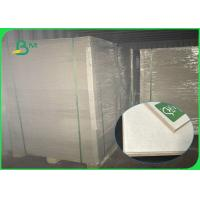 Grade AA 70*100cm Grey Chipboard , 2.2mm 2.25mm Paper Board For Packaging Boxes Manufactures