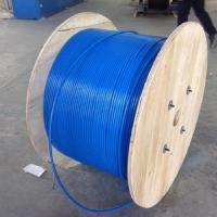 PVC Sheath Armoured Fiber Optic Cable Mining Flame Retardant MGTSV G652d Stranded Manufactures