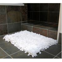 China 100% cotton terry bath mat towel on sale