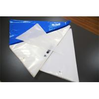 Blue White Disposable Pastry Bags / Disposable Icing Bags For Cake Decorating Manufactures
