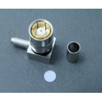 Buy cheap 75 Ohm Smz Female Right Angle Connector RG178 Brass Connector For Cable from wholesalers