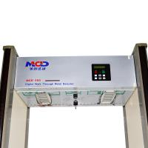 6.0 Inch LCD Display Door Frame Metal Detector with 18 Zones
