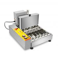 Small Electric Automatic Donut Making Machine 6 Rows With 11L Oil Tank Manufactures