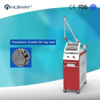 Double lamp & double crystal laser generator Q Switch Nd Yag Laser 1064nm 532nm Tattoo Removal Machine Manufactures