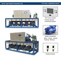 Cattle Meat Cooling Bitzer Condensing Units Parallel Compressor Racks Manufactures