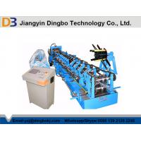 C Channel Steel Channel Purlin Roll Forming Machine For Pre - Engineering House Manufactures