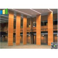 Cheap Fabric Wooden Exhibition Partition Wall , Folding Operable Partition Walls for sale
