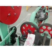 Buy cheap Automatic Chain Link Fence Machine , 1.8mm - 2.2mm Diameter Barbed Wire Making from wholesalers