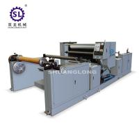 Polyethylene Film Automatic Embossing Machine With Oil Heating SLYW-1350 Manufactures