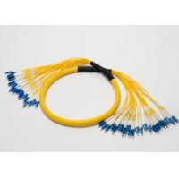 Lc Upc-Lc Upc Patch Cord , Yellow SM Patch Cord 2.0mm 24 Cores Branch Manufactures