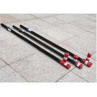 Thread Extension Rock Drill Rods / Thread Drill Pipe High Length API Forging Manufactures