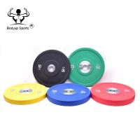 China Crossfit Barbell PU Plate / PU Bumper Plates / Weight Lifting Plates on sale