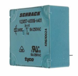 RELAY GEN PURPOSE SPDT 8A 24V V23057A 6A401 Manufactures