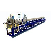 Welded Metal Bellows Pipe Production Line , Flexible Tube Making Machine Shower Hose Manufactures