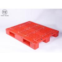 China Medium Duty Molded Plastic Pallets With Steel Bar Racking Load 1200 * 1000 * 170 mm on sale