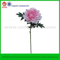 """28"""" Artificial Silk Plastic Flower of Pink Peony Manufactures"""