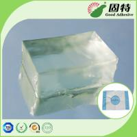 Fabric Block Industrial Hot Melt Glue , Colorless Transparent Hot Glue Adhesive Manufactures