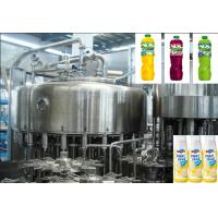 Rotary Multi-Head Bottle Filling Machine Used In  Fruit Juice Production  Line Manufactures