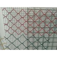 Quality PVC Coated Galvanized Chain Link Fence System 3.0mm - 4.76mm  Security For Agriculature for sale