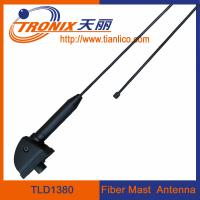 1 section black fiber mast car antenna/ am fm radio car antenna TLD1380 Manufactures