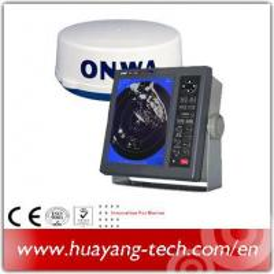 10.4 Inch Color LCD Display 36nm Marine Radar Manufactures