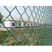 Anti Rust PVC Coated 6 Foot 9 Gauge Chain Link Fence For Slope Protection Project Manufactures