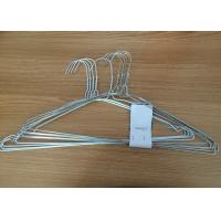 Q195 Material Clothes Wire Hangers Recyclable Non Slip Clothes Hangers For Shirt Manufactures
