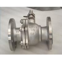 Cheap DN25 Hose Ball Valve , HIgh Temperature Stainless Steel Ball Valve WRAS / ISO 9001 for sale