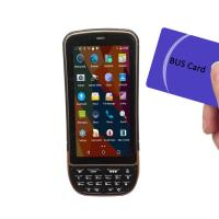 Portable Mobile RFID Reader Writer HF5.0 Inch Screen 13.56MHz ISO 14443A/B ISO 15693 Manufactures