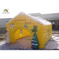 Customized Size Inflatable Advertising Products Christmas House Snowma Tent Manufactures