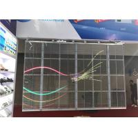 Buy cheap Flexible Transparent LED Wall , Transparent LED Display Screen for Christmas from wholesalers