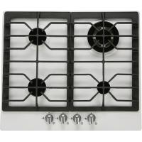 60cm white enameled built in gas hob Manufactures