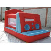 Kids Backyard Fun World Inflatable Jumping Castle Commercial Grade For Playground Manufactures