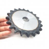 Buy cheap 1045 steel Pitch 5/8'' 50A20 hardened teeth ansi chain and sprocket wheel from wholesalers