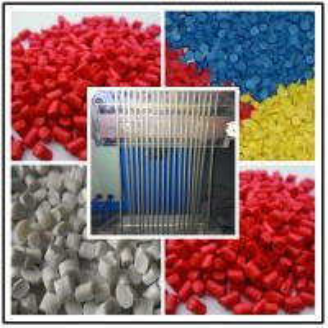 High Capacity Plastic Pelletizing Machine Double Screw Design ABB Transducer Manufactures