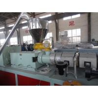 WPC Machinery Wood Plastic Extrusion Lines For Indoor Decration Material Manufactures