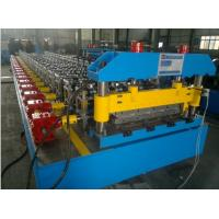 Cheap Trapezoidal Roof Steel Tile Forming Machine With Chain Transmission for sale