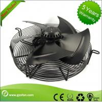 Small 220V Industrial Extractor Fan For Eshaust Ventilation Sheet Steel Material Manufactures