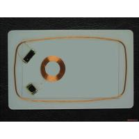 RFID Magnetic Card CR80 Smart Card Inlay 0.5mm 0.6mm 0.7mm  1K proximity card inlay Manufactures